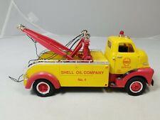 First Gear 1952 GMC Heavy Duty Wrecker Tow Truck  1/34 scale  Shell Oil Co. #4