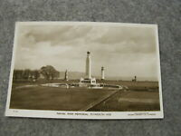 Devon real photographic postcard - Naval War memorial Plymouth Hoe