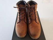 Mens TIMBERLAND brown nubuck Leather 6in waterproof Boot Size 8 (Eu 41.5)