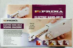 ELECTRIC HAND HELD PORTABLE SEWING MACHINE ALTERATIONS TEXTILES LIGHTWEIGHT