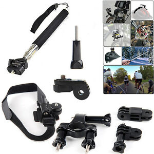 Bicycle Bike Motorcycle Cycling Riding Mount Kit for Sony AS20 AS15 AS100V AS30V