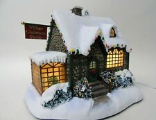 Hawthorne Village Thomas Kinkade 'Christmas Florist' Lighted House w056
