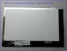 "Asus TF300 TF300T TF300TG HannStar 10.1"" LED  Display HSD101PWW1 WXGA glanz"