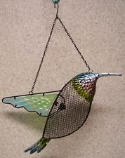 Bird Feeder Hummingbird seed NEW assorted metals and glass hanging