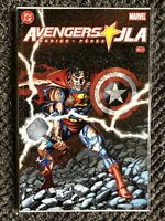 JLA/Avengers #4 - Marvel and DC Comics - 2004 - George Perez Cover!