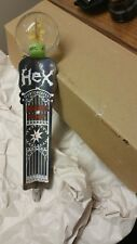 "NEW IN BOX MAGIC HAT HEX OURTOBERFEST 12-1/2"" Beer Tap Handle"