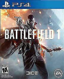 Battlefield 1 PS4 [Brand New Sealed] Fast Free Shipping!