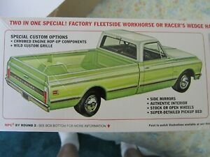 1/25 scale 72 Chevy p.u. bag kit by MPC.