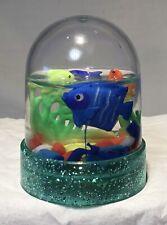 Vtg St Kitts Travel Souvenir Mini Snow Globe Fish Estate Find