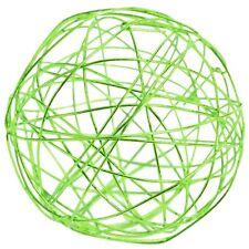 Boules métal vert anis déco de table mariage
