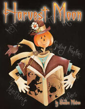 Harvest Moon Sandra Malone Painting Book Fall Halloween New