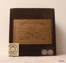 """San Andres<>""""Kristoff San Andres"""" Wooden Cigar Box<>Interesting<>Ruff-cut Box"""
