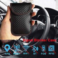 1x Anti-theft Car Key Fob RFID Signal Blocker Faraday Signal Blocking Pouch Bag