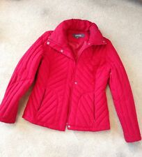 KENNETH COLE REACTION Women's Red Down-filled Winter Coat Size M