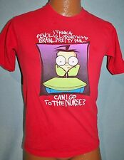 Vintage INVADER ZIM 2001 Can I Go To Nurse T-SHIRT Small NICKELODEON Rare