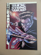 Six String Samurai 1 One Shot . Awesome / Hyperwerks 1998 . VF - minus