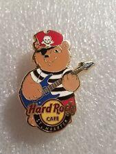 ST.MAARTEN Hard Rock Cafe Pin PIRATE  BEAR