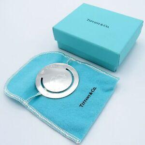 Tiffany & Company Sterling Bookmark, C-1999, Bag and Box, NR