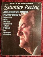 Saturday Review March 4 1978 HUBERT HUMPHREY ARTHUR SCHLESINGER STEPHEN DEMOREST