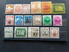 China  - Manchuria -  unused stamps issued (1940'S)