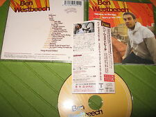 CD BEN WESTBEECH - WELCOME TO THE BEST YEARS OF YOUR LIFE JAPAN w OBI TRCP-1 + 2