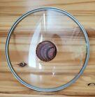 "CSK Glass & Bakelite Knob Pot / Pan Replacement LID ONLY 9 5/8"" Outer Diameter"