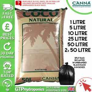 Canna Coco Natural 50L Bags x1 / x2 / Decanted Split Bags 1L / 5L / 10L / 25L