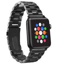 Apple Watch Series 4/3/2/1 38mm - Black - Platinum Black Chain Link Band