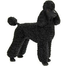 More details for poodle black dog ornament figurine gift boxed