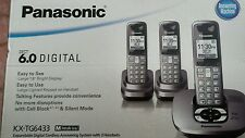 Panasonic dect 6 0 digital answering system with 3 handsets