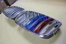 FRONT KIDNEY GRILLE CHROME with ///M Color BMW E70 X5 Series E71 X6 Series 07-13