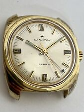 HAMILTON ALARM Vintage Mechanical Watch Runs & Functions Awesome Estate Watch!!
