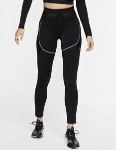 Nike CITY READY Women's XS High Rise Tights Black CJ0891 001