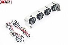 Fastrax 4 Light Cluster Bar Round 18mm Lights includes LED's Lenses & Mountings