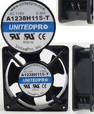 UnitedPro 115VAC/110V/120V AC Tube Axial Muffin Cooling Fan 50/60Hz 120mm*38mm