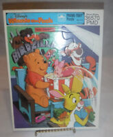Disney Winnie the Pooh Frame Tray Golden Puzzle Special Edition