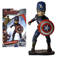 "NECA MARVEL AVENGERS 2 CAPTAIN AMERICA EXTREME 6"" HEAD KNOCKER BOBBLE HEAD"
