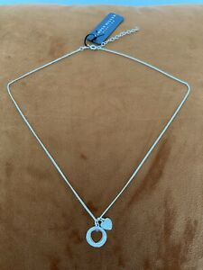 Simply Silver Sterling Necklace With The Heart Pendant RRP 25£