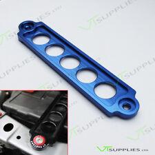 Universal Blue Car Battery Tie Down Bracket Clamp Holder Mount - 45mm x 220mm