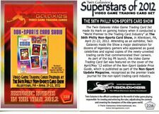 TWIN GALAXIES PHILLY SHOW PROMO CARD #228 FROM 2012