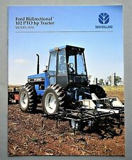 ORIGINAL 1995 FORD 9030 BIDIRECTIONAL FARM TRACTOR BROCHURE ~ 16 PAGES ~ 95F9030