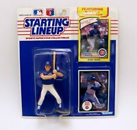 VINTAGE SEALED 1990 Starting Lineup SLU Figure Mark Grace Cubs
