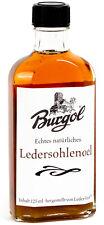 (13,20€/100ml) Burgol Sohlenlederöl Lederöl Ledersohlenöl 125ml - 7001