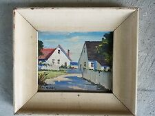 oil painting Provincetown cape cod artist Irene Stry one of two listed