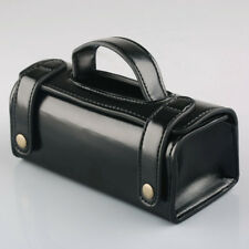 Men's Leather Black Travel Kit Shaving Toiletry Case Bag Waterproof Sports Bags