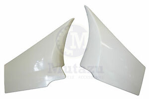 Mutazu Raw White Side Cover Covers fit Victory Cross Country Road. Made with ABS