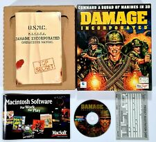 ©Apple PC Macintosh CD-Rom DAMAGE INCORPORATED us Bigbox OVP 3D Shooter/Marines