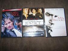 (3) William Hurt DVD/Movies Mr Brooks, Hunt for Justice & A History of Violence