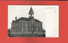 Canton,Lincoln County,SD South Dakota, High School Building not used before 1907