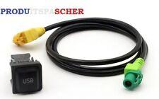 Adaptateur cles usb pour autoradio vw rcd510 rcd030 rcd300 aux usb vw